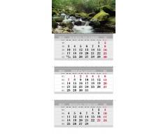 Календарь ТРИО MAXI «Водопад»