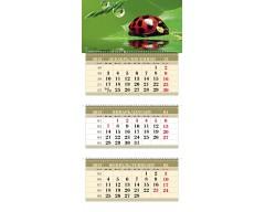 Календарь ТРИО MAXI «Божья коровка»