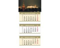 Календарь ТРИО MAXI «Вечерний Кремль»