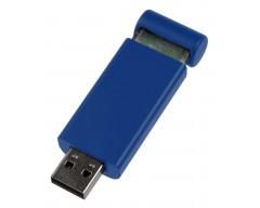 Флешка Click, синяя, 8 Гб