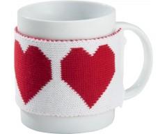 Манжета на чашку «Теплушка - сердце»