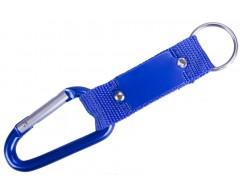 Брелок «Карабин», синий