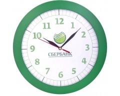 Часы настенные, большие, зеленые