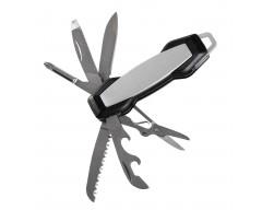 Нож карманный Hexogen, серебристый, с серебристыми лезвиями
