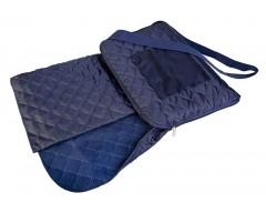 Плед для пикника Soft & dry, темно-синий
