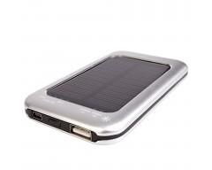 Универсальный аккумулятор Solar 2000 mAh, на солнечных батареях