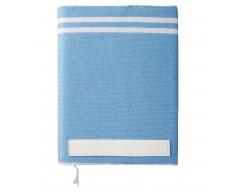 Ежедневник Stripe, голубой