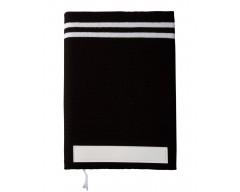 Ежедневник Stripe, черный