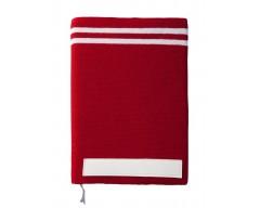 Ежедневник Stripe, красный