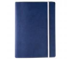 Ежедневник Vivid Colors в мягкой обложке, недатированный, синий