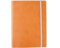 Ежедневник Vivid Colors в мягкой обложке, недатированный, желтый