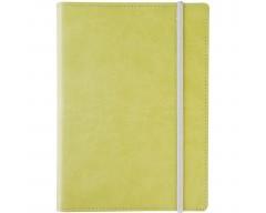 Ежедневник Vivid Colors, в мягкой обложке, недатированный, зеленый