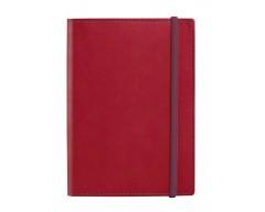 Блокнот Vivid Colors в мягкой обложке, красный