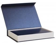 Коробка «Блеск» для ежедневника, синяя