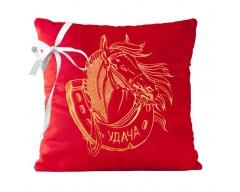 Подушка «Удачный Год», красная