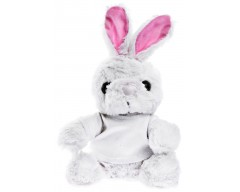 Игрушка «Заяц Bunny в футболке», белый