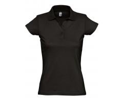 Рубашка поло женская Prescott women 170 черная