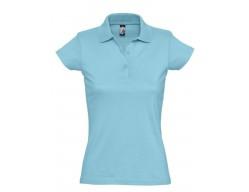 Рубашка поло женская Prescott women 170 бирюзовая