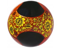 Мяч футбольный «Хохлома»
