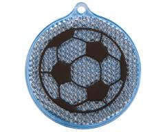 Светоотражатель «Футбол», синий