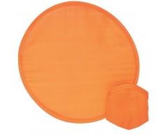 Летающая тарелка — фрисби, складная, оранжевая