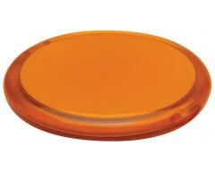 Зеркало круглое, оранжевое