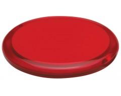 Зеркало круглое, красное