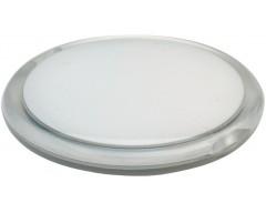 Зеркало круглое, белое