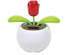 Танцующий цветок «Роза», на солнечной батарейке