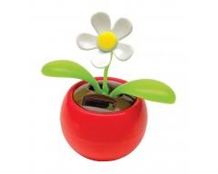 Танцующий цветок «Ромашка», на солнечной батарейке