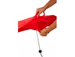 Зонт INSIDE OUT, красный