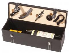 Кейс для бутылки вина с аксессуарами