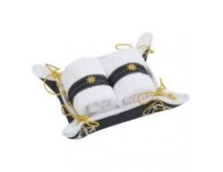 Набор полотенец в корзине «Стороны Света»