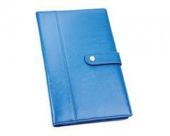 Портмоне дорожное с отделениями для паспорта, авиабилетов и кредитных карт цвет: голубой