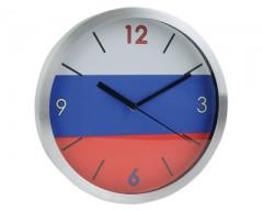 Часы настенные «Российский флаг».
