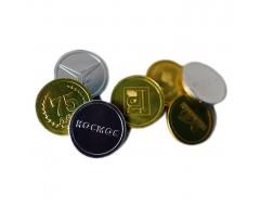 Шоколадные монеты 6 гр