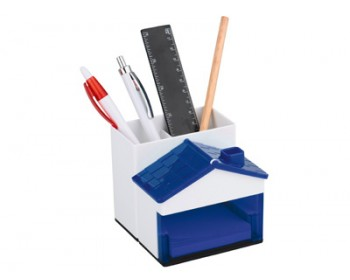 Подставка под ручки и канцелярские принадлежности в виде домика