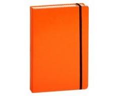 "Блокнот ""Megapolis"" Journal на резинке А5 200 страниц оранжевый"