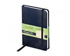 """Блокнот """"Megapolis"""" Journal на резинке А6 200 страниц черный"""