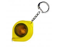 Брелок-рулетка «Капля», желтый