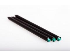 Набор простых карандашей с точилкой «Монблан», зеленый
