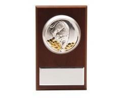"""Плакетка малая """"Тигр на монетах» с возможностью персонализации"""