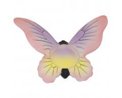 Подсвечник розовый «Бабочка»