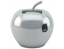 Аксессуар для подзарядки мобильного телефона «Яблоко», серебряный