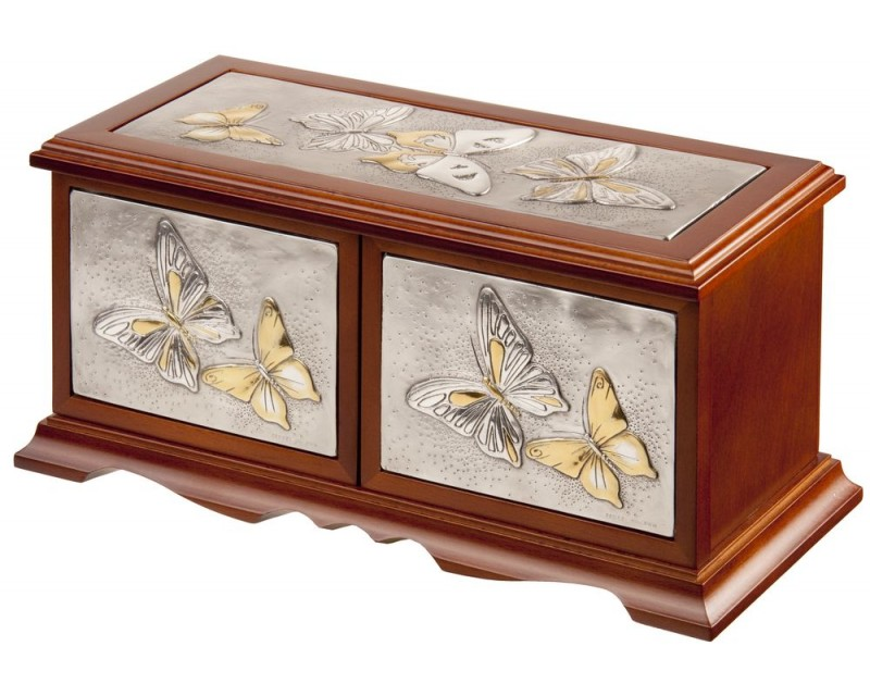 Шкатулка для драгоценностей «Бабочки»